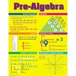 Chart Pre-Algebra by Carson Dellosa