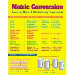 Metric Conversion Chart by Carson Dellosa