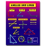 Angles And Lines by Carson Dellosa