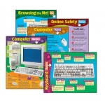 Computer Skills Combo Pack Chart: Grade 2-6 by Trend Enterprises
