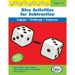 Didax Dice Activities for Subtraction: Grades 1-3
