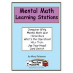 Didax Instant Math Center: Mental Math, Grades 3-6