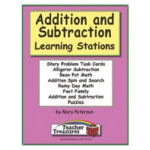 Didax Instant Math Centers: Addition and Subtraction, Grades 1-3
