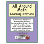 Didax Instant Math Centers: All Around Math, Grades 3-4
