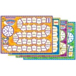 Didax Learning Lift-Off: Set of All Four Math Puzzles, Grades 2-5