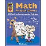 Didax Math Puzzles Galore: Grades 5-8