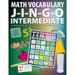Didax Math Vocabulary Jingo: Grades 3-6