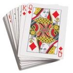 Didax Playing Cards: Giant Size, Grades K-12