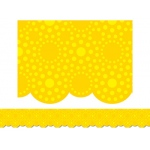 Lots of Dots Yellow Border