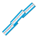 BB Set Classroom Number Line 22L Number: 20 to 100, Grades - K, 1, 2, 3, 4, 5