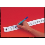 "Number Line Student With Adhesive: 2"" X 24"", 12 Pack, Mark-On/Wipe-Off"