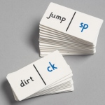 Didax End Consonant Clusters Dominoes: Grades 1-4