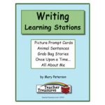 Didax Instant Literacy Learning Station: Writing Centers, Grades 1-2