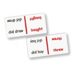 Didax Irregular Past-Tense Verbs Dominoes: Grades 1-4, Set of 1
