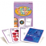 Didax Language Triple Play Games: Sight Words, Colors, Numbers & More, Grades PreK-2