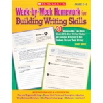 Didax Week-by-Week Homework for Building Writing Skills: Grades 3-5