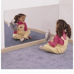 Whitney Brothers Rectangular Mirror: Size 48 x 24